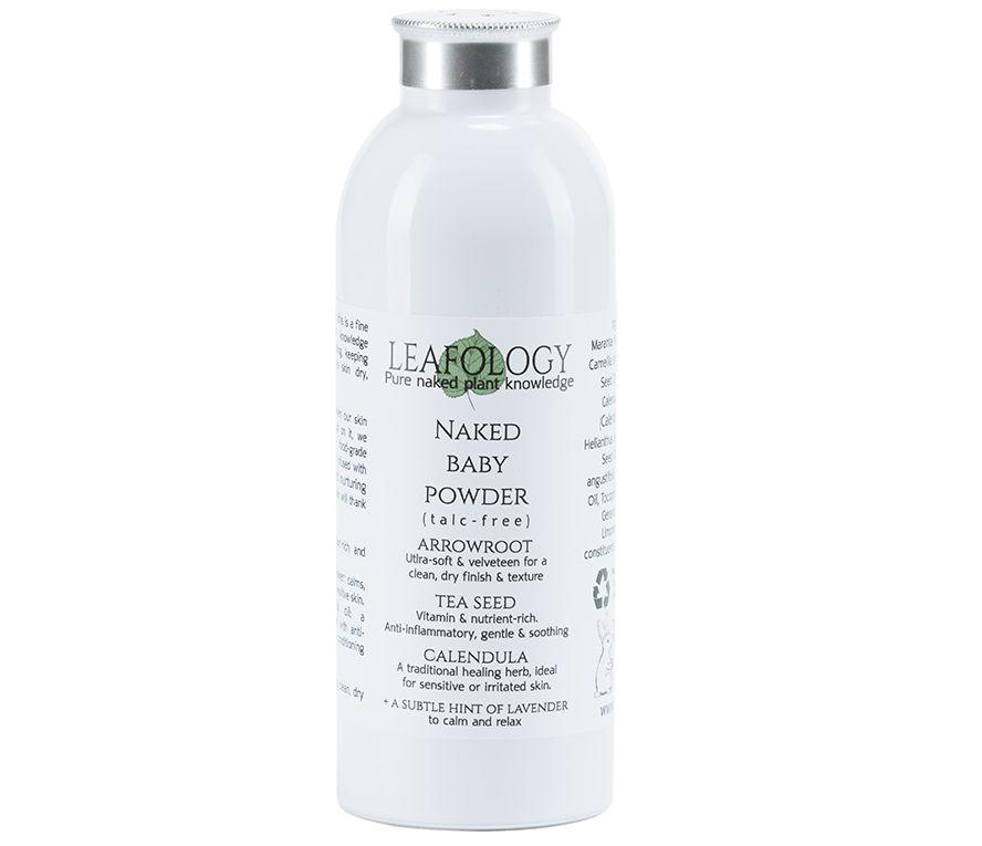 Naked Baby Powder With Tea Calendula Leafology